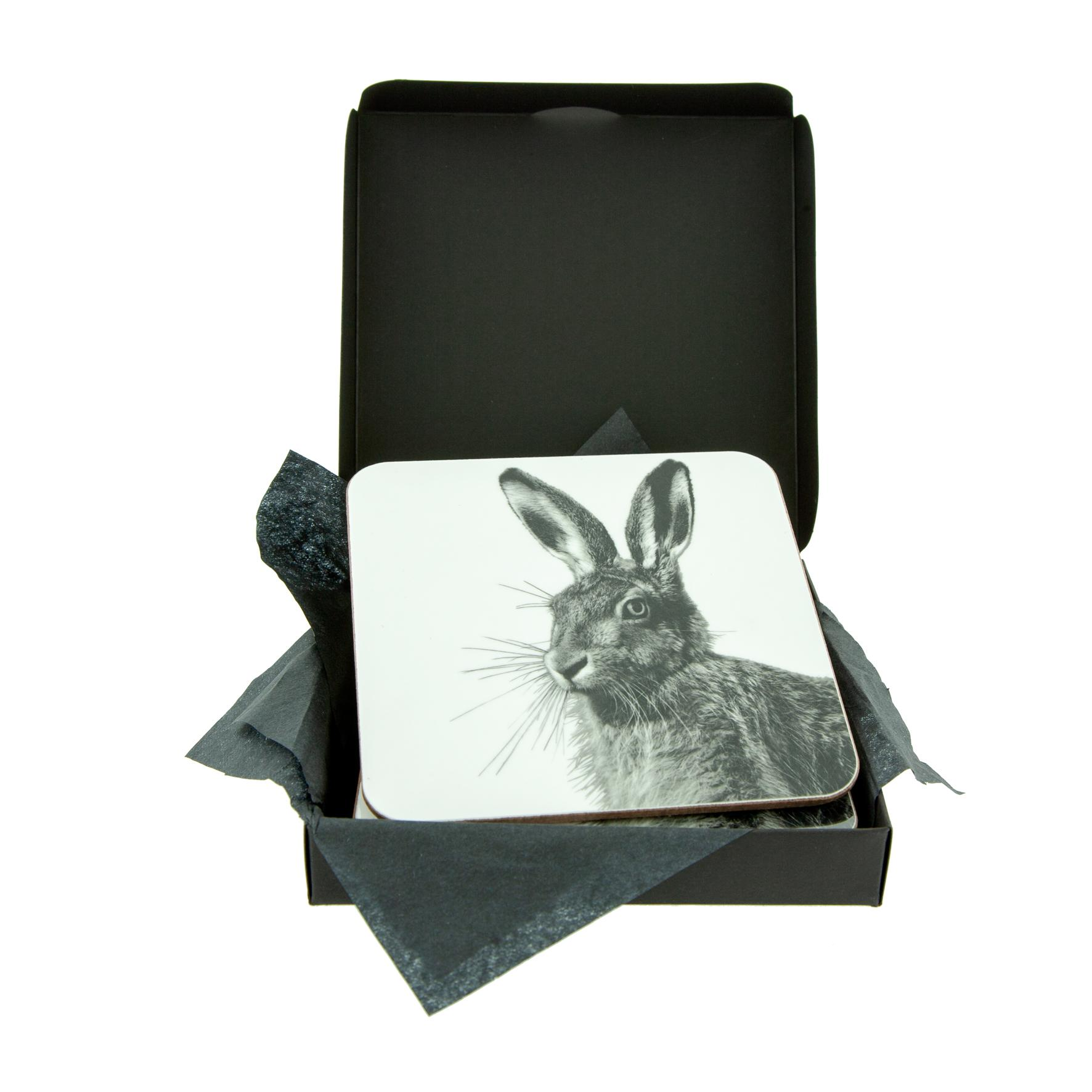 Hare Coaster - White