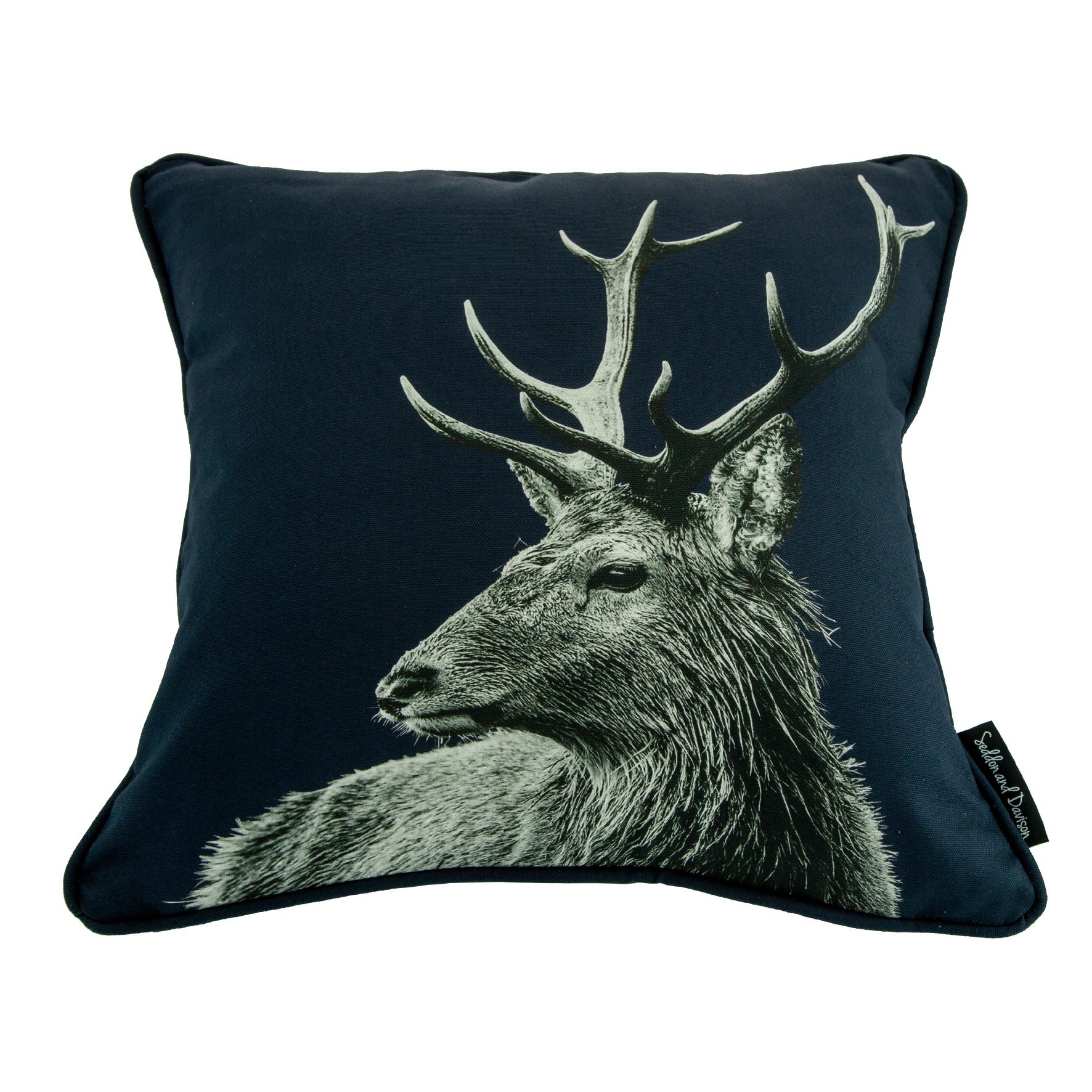 Highland Stag Cushion on Blackberry
