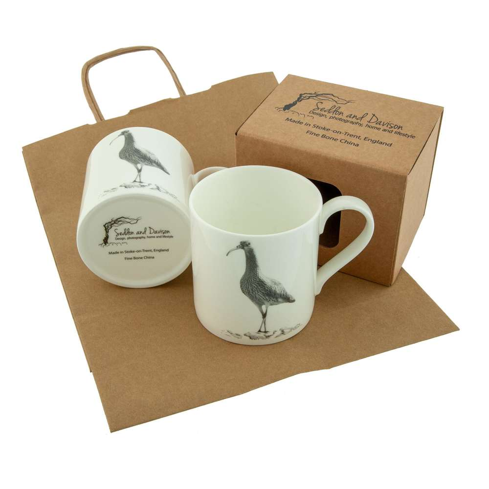 Curlew Fine Bone China Mug