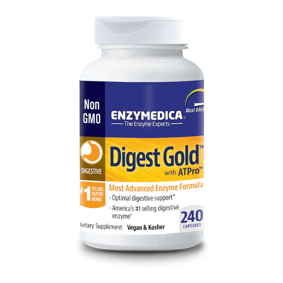 Enzymedica Digest Gold enzymes 240 capsules