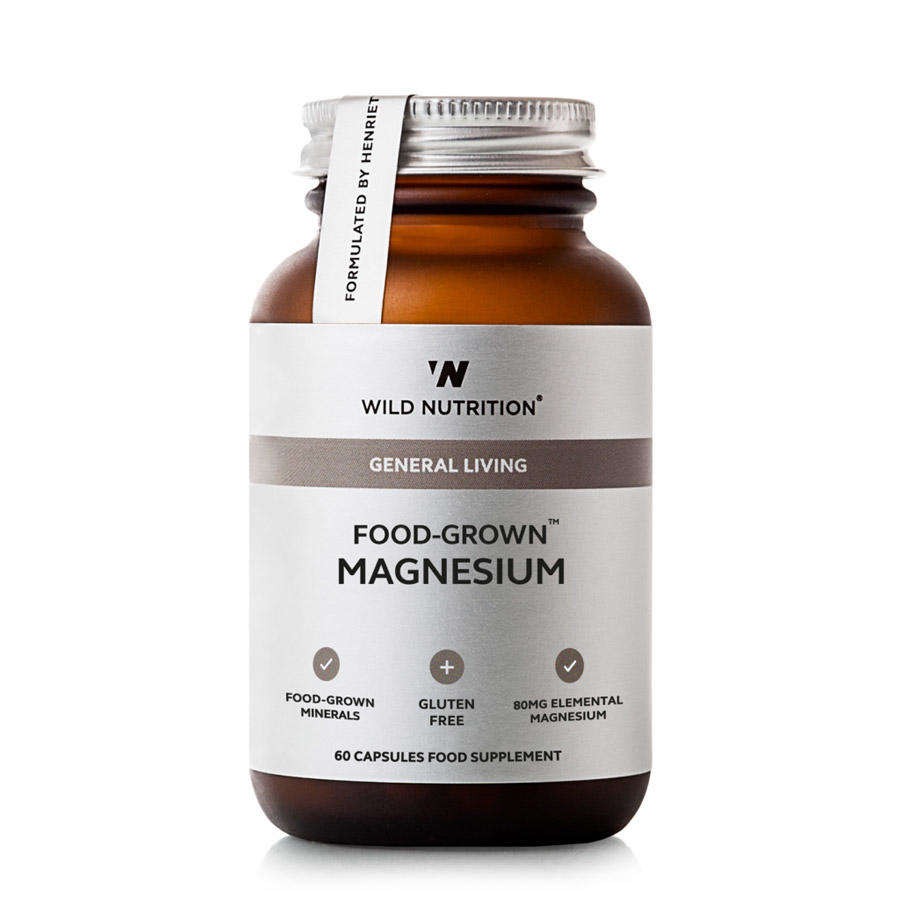 Optimal Absorption Food Grown Magnesium by Wild Nutrition