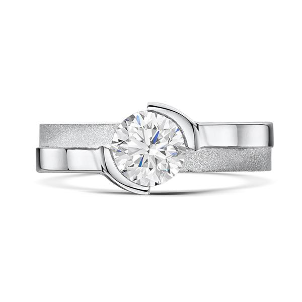 0.80ct diamond ring 5734