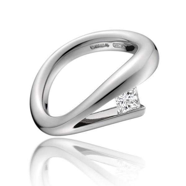 0.42ct diamond ring PS21