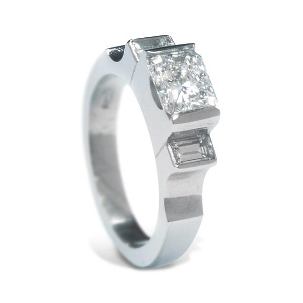 1.34ct diamond ring 3453