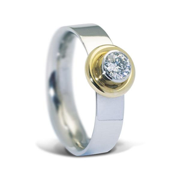 0.30ct diamond ring 3660