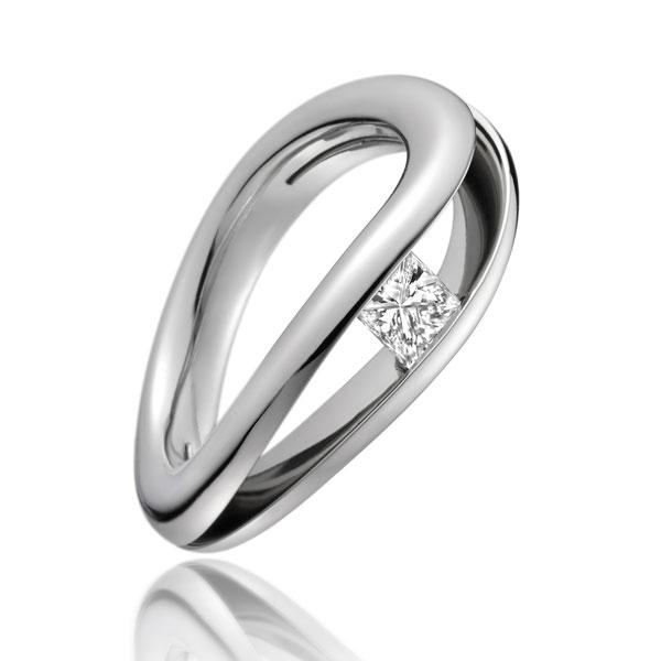 0.42ct diamond ring PS18