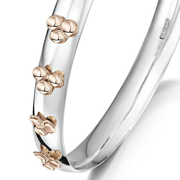 Flower bangle FL57