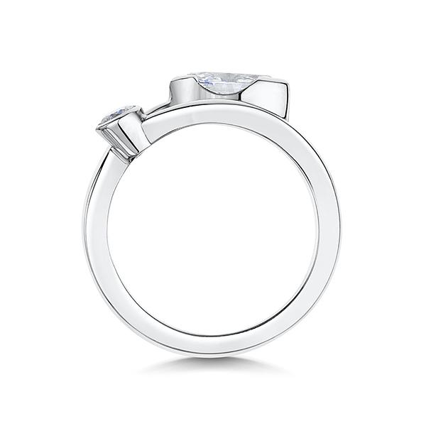 0.87ct diamond ring 4713