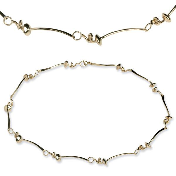 Vines of gold necklace VG15
