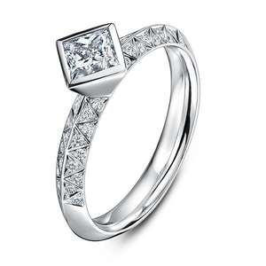 0.50ct Empress Ring