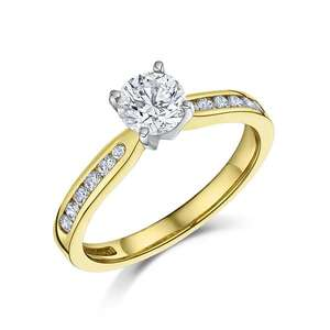 0.99ct diamond ring 4292