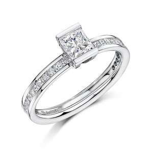 1.19ct diamond ring 5995