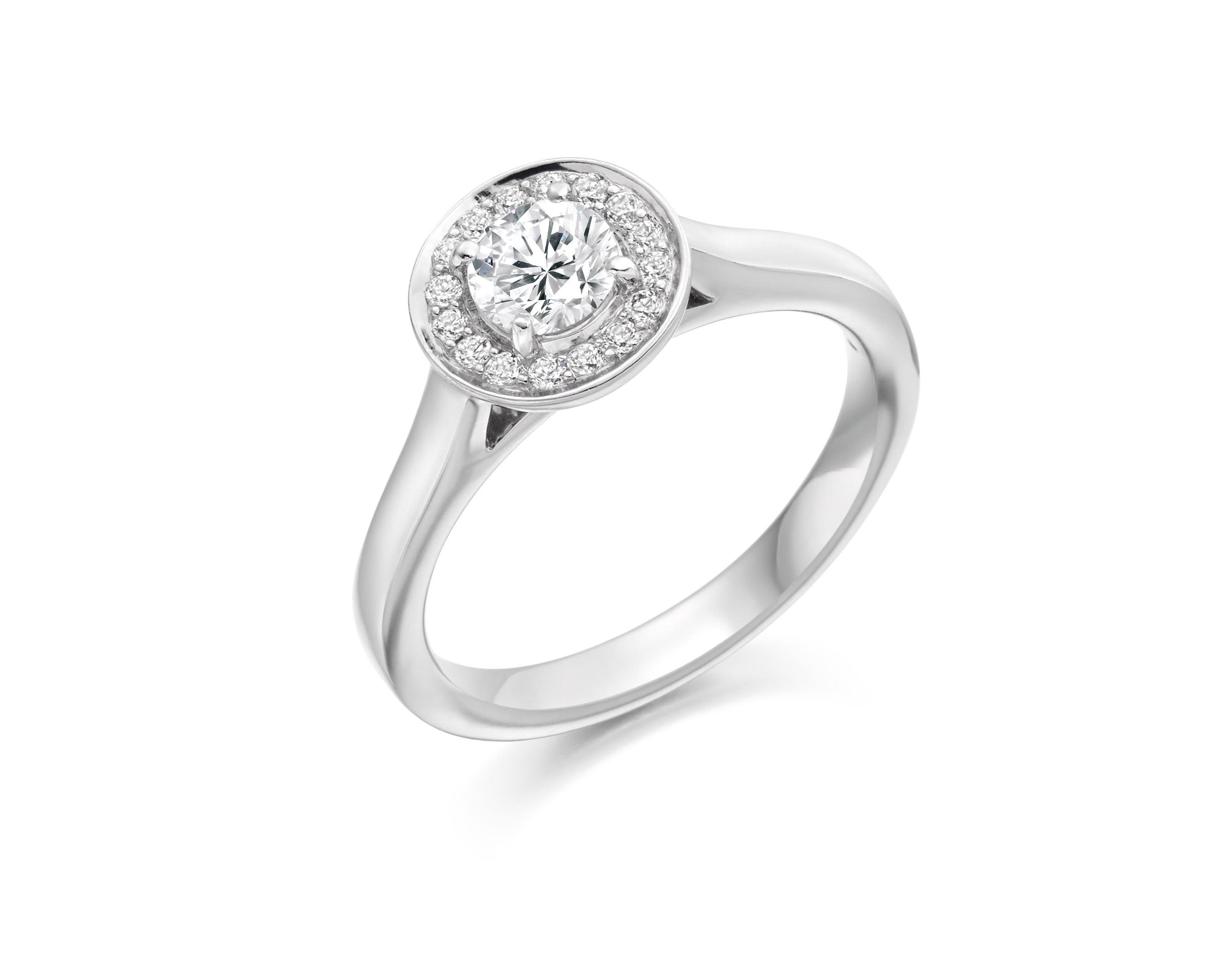 0.36ct diamond ring GX43