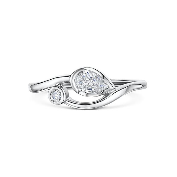 0.31ct diamond ring 4576