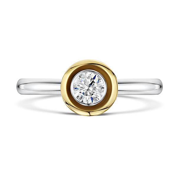 0.33ct diamond ring 5257