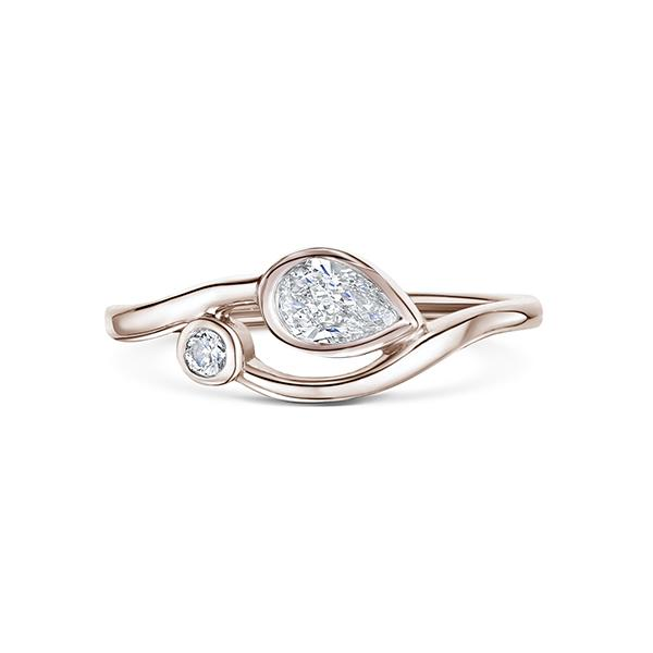 0.42ct 18ct Rose gold