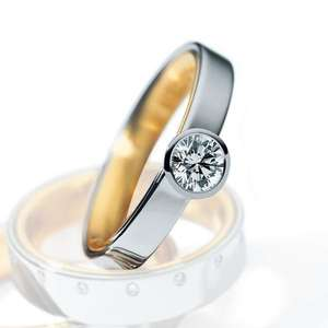0.465ct diamond ring HD88