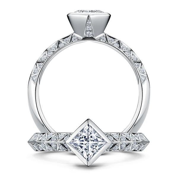 0.18ct Empress ring