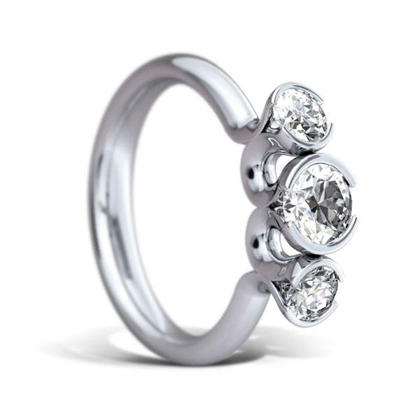 0.90ct diamond ring 3450