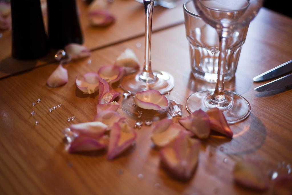 Testimonial: Freeze Dried Pink Petals on our Wedding Day