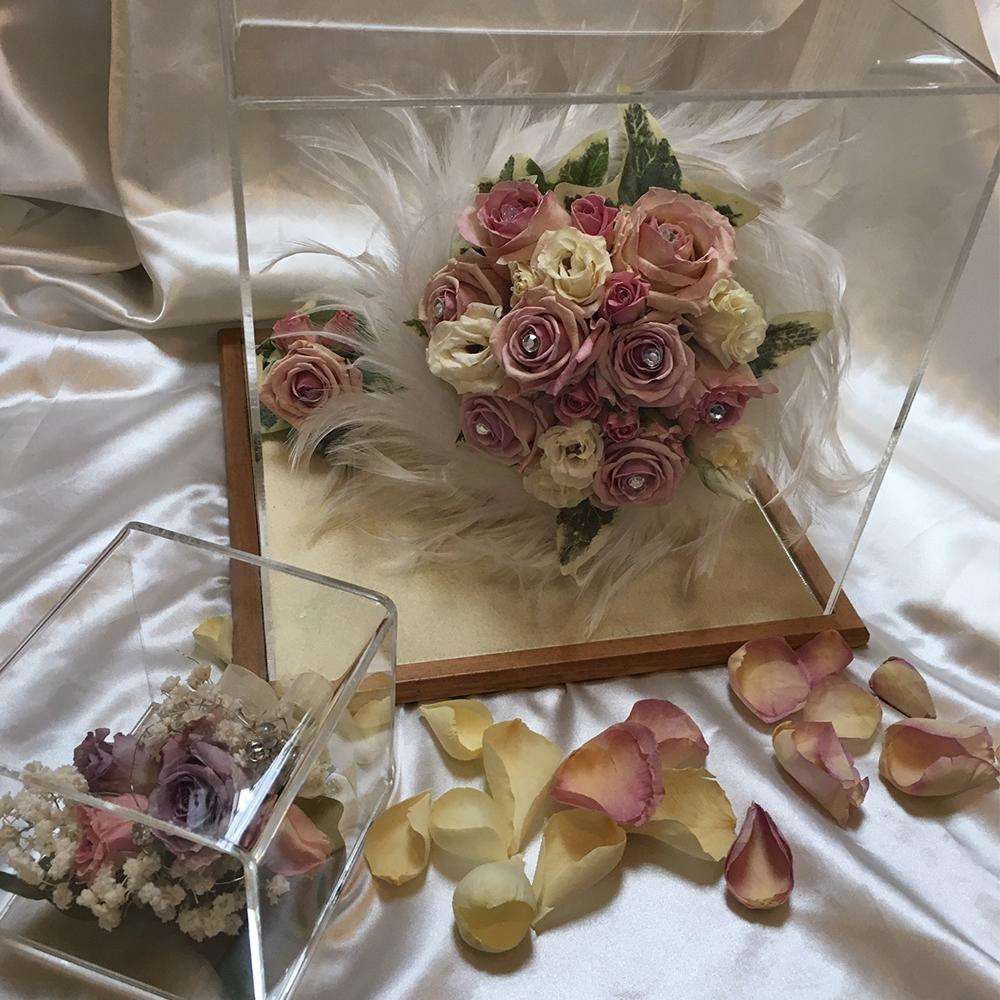 Preserve your wedding flowers with us