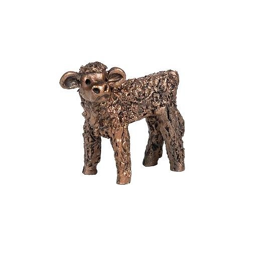 Pickles Highland Bull Calf - Bronze Sculpture - Veronica Ballan VBM016