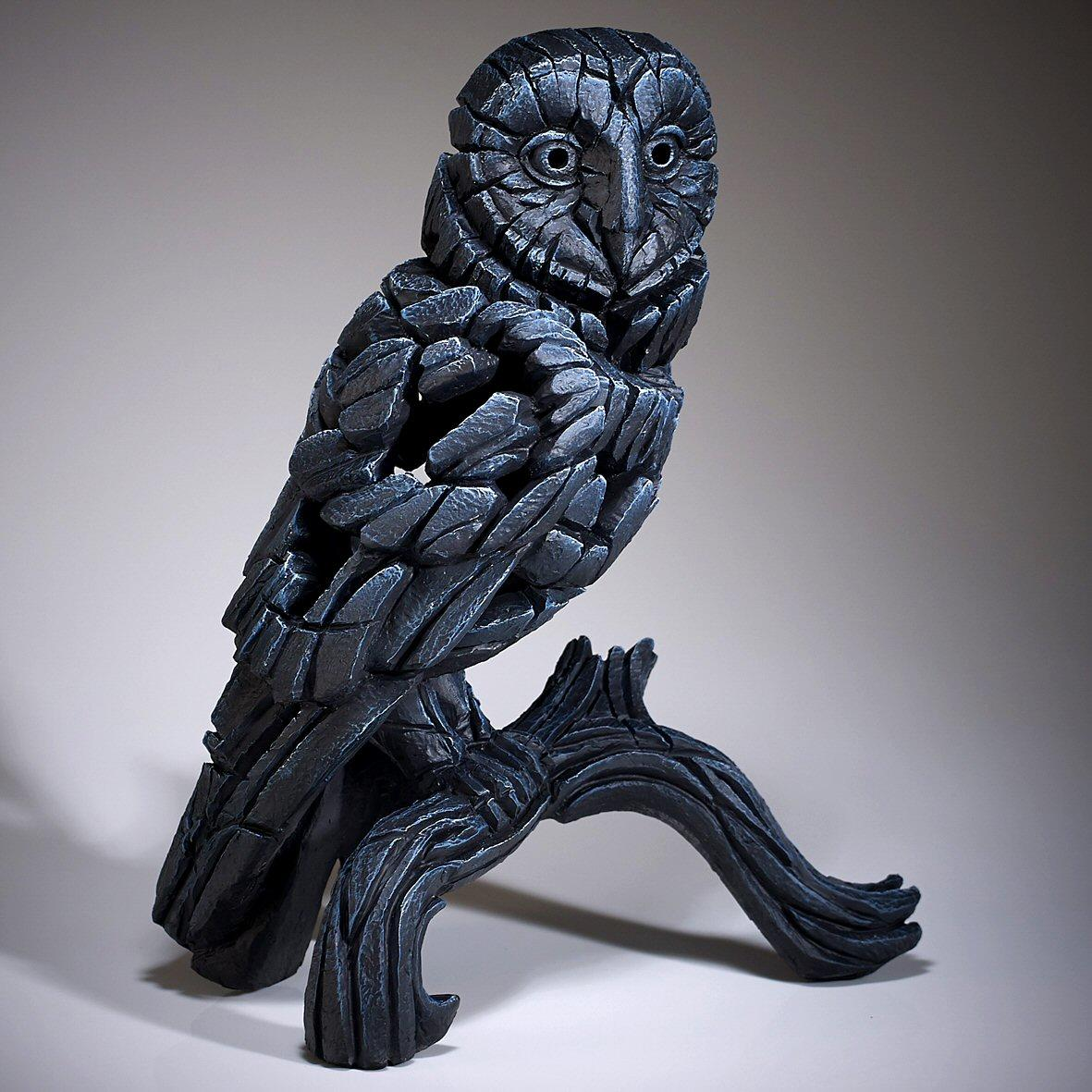 Barn Owl - Black ED25B EDGE by Matt Buckley