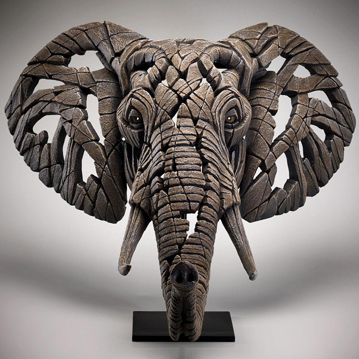 Elephant Bust EDB22 EDGE by Matt Buckley