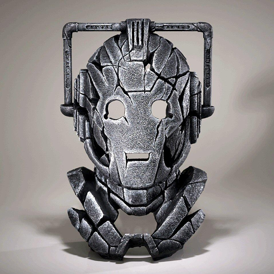 Cyberman Bust EDWHO01 EDGE by Matt Buckley