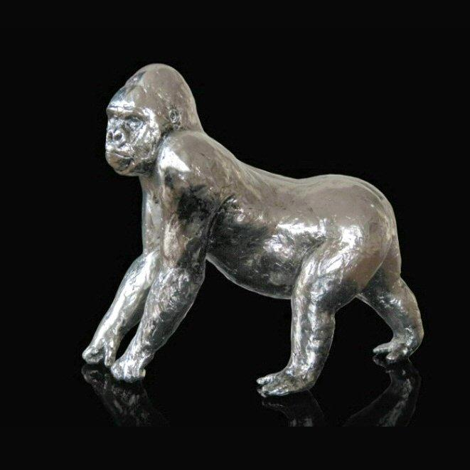 Gorilla (302NP) by Michael Simpson - Nickel