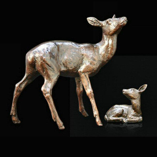 Hind and Fawn (986) by Michael Simpson