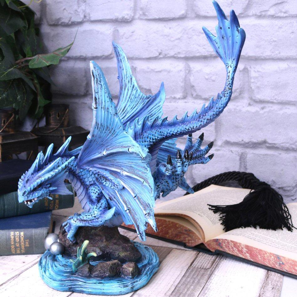 Adult Water Dragon - Dragon Figurine - Nemesis Now D4518N9