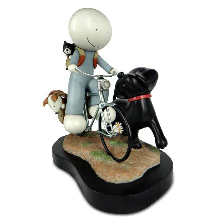 Sunday Riders - Sculpture by Doug Hyde