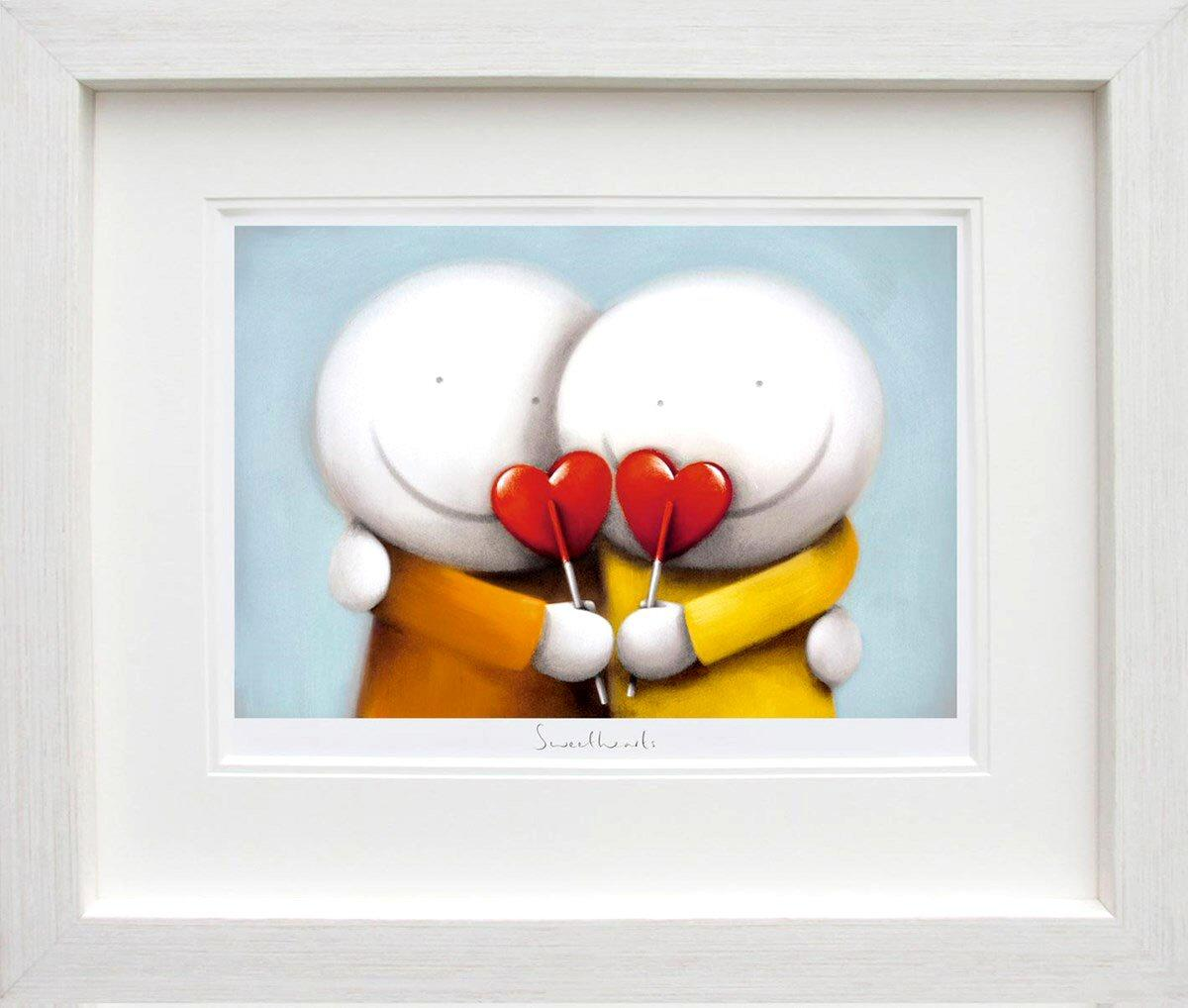 Sweethearts by Doug Hyde - DeMontfort ZHYD641 - framed