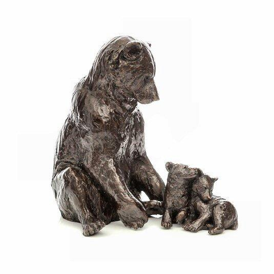 Family Affair - Bronze Sculpture - Michael Simpson DeMontfort SSIP009