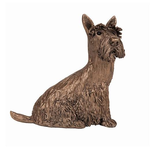 Fraser the Scottie - Bronze Dog Sculpture - Veronica Ballan VB081