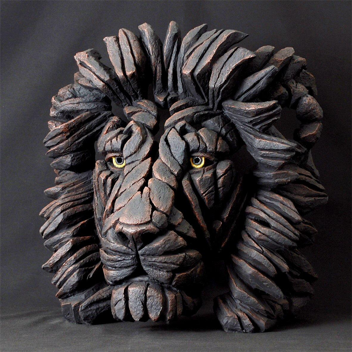 Lion Bust - Black EDB09K - Limited Edition EDGE by Matt Buckley