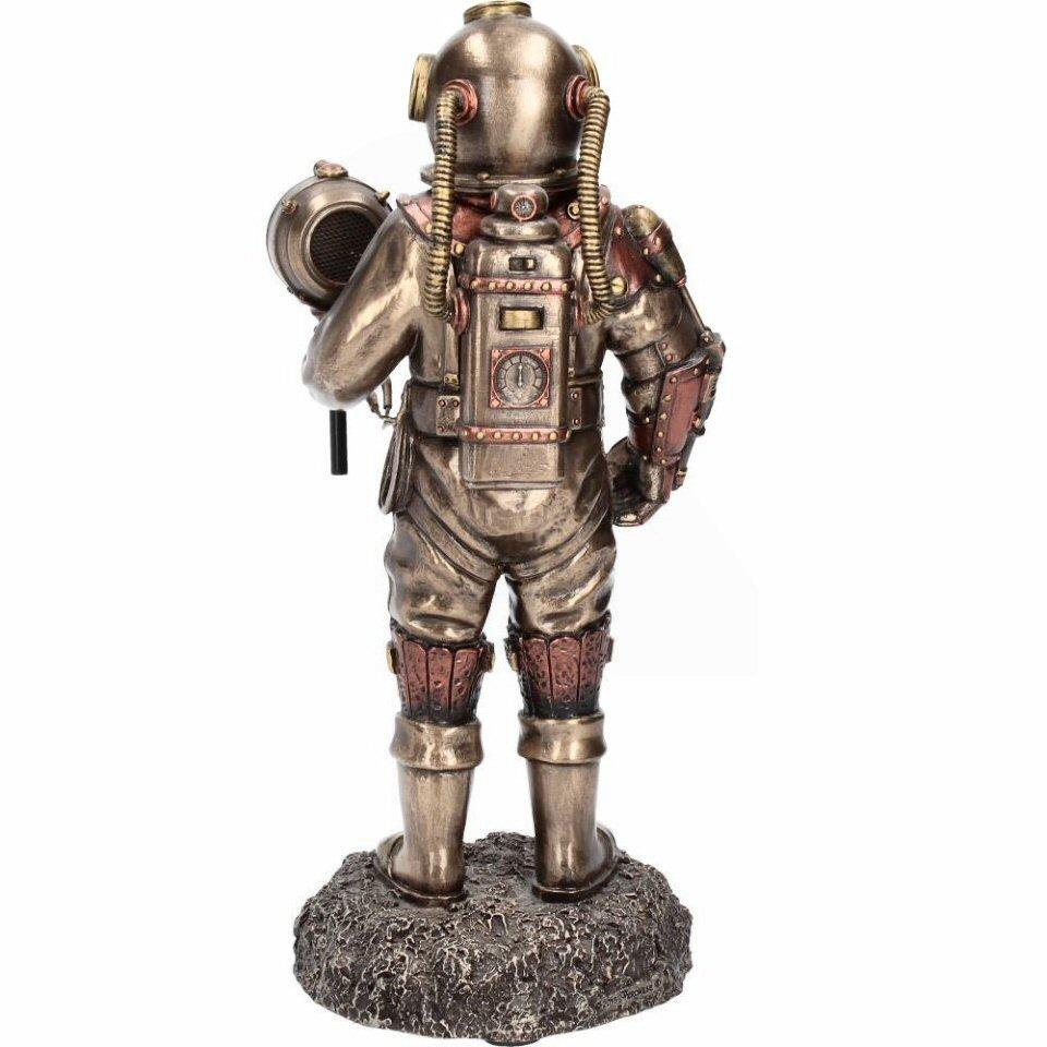 Mariners Descent - Steampunk Deep Sea Diver Figurine (c2424g6)