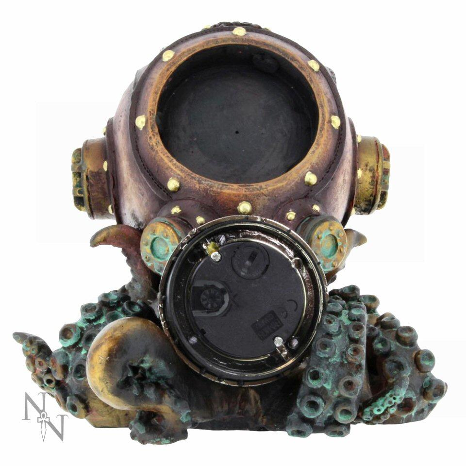 Clocktopus - Steampunk Clock - 1D2619G6