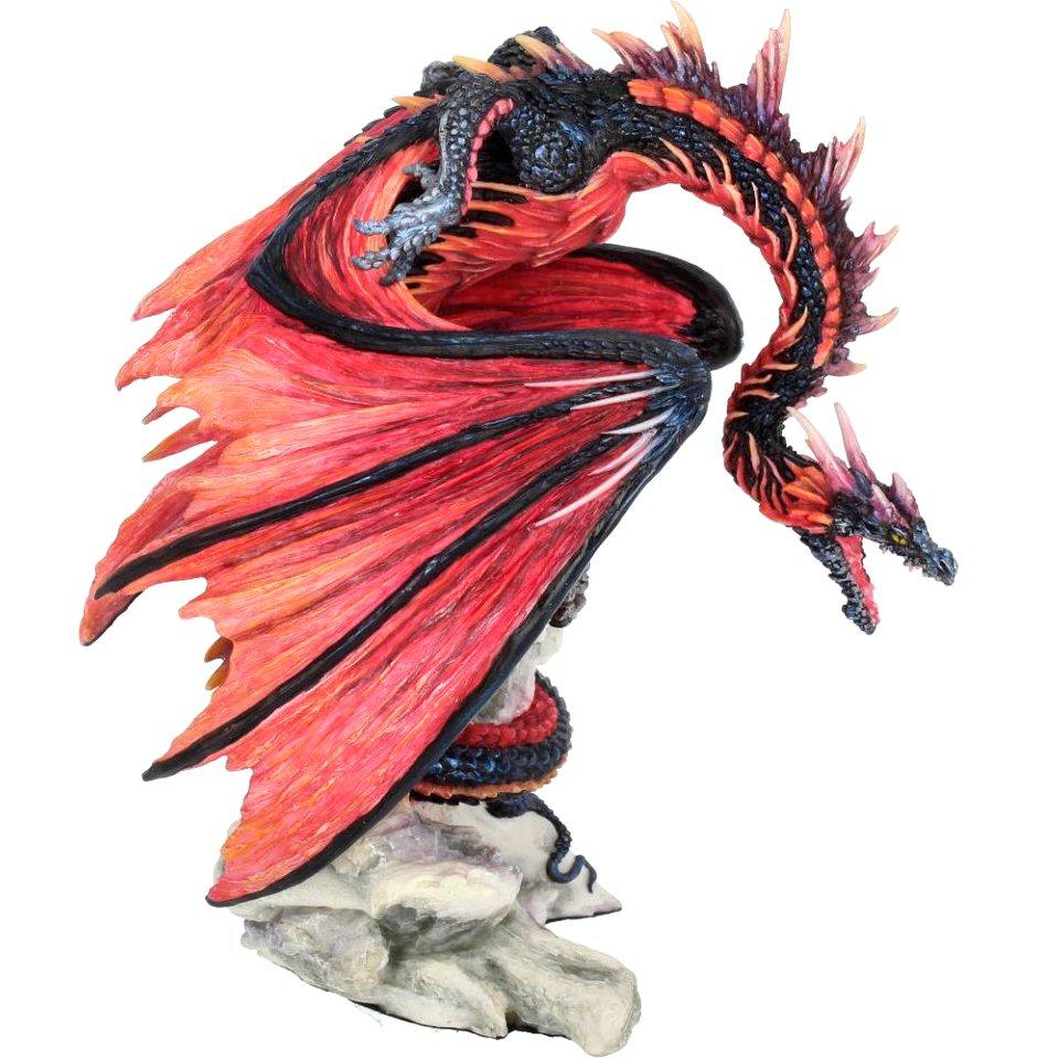 Bloodfire - Dragon Figurine - Nemesis Now B3656J7