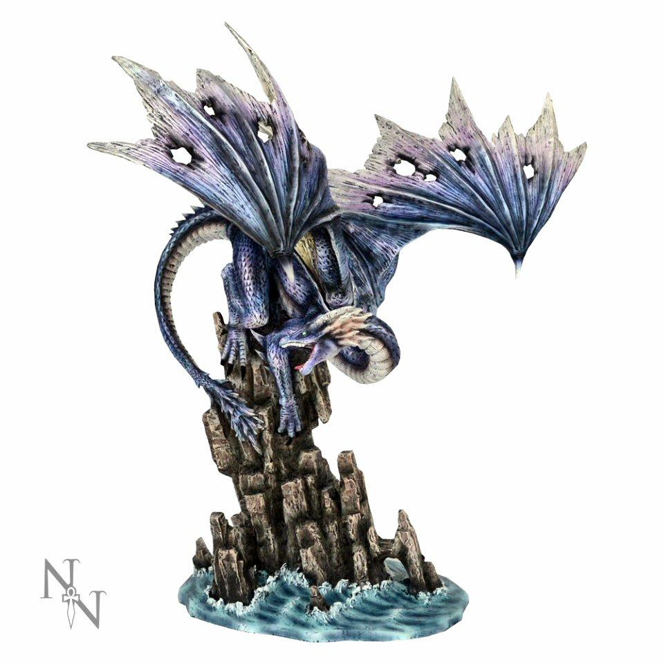 Leviathan's Wrath - Dragon Figurine - Nemesis Now D2457G6