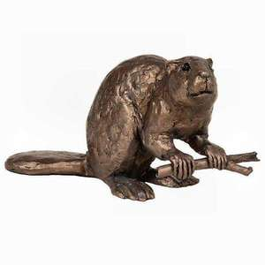 Beaver - Bronze Sculpture - Thomas Meadows TM061