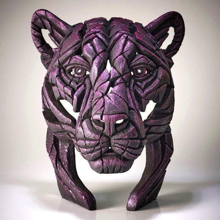 Black Panther Bust - Rinky Dink Pink - Limited Edition EDGE EDB21PK