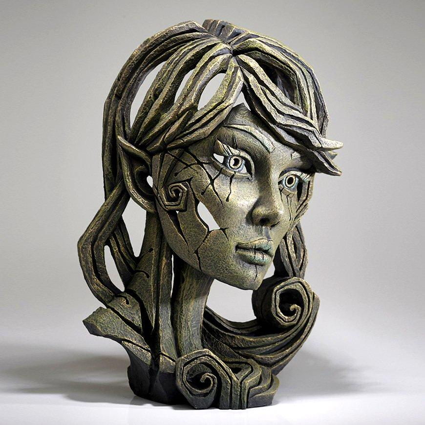 Wood Elf Bust - Leaf EDB19 EDGE by Matt Buckley