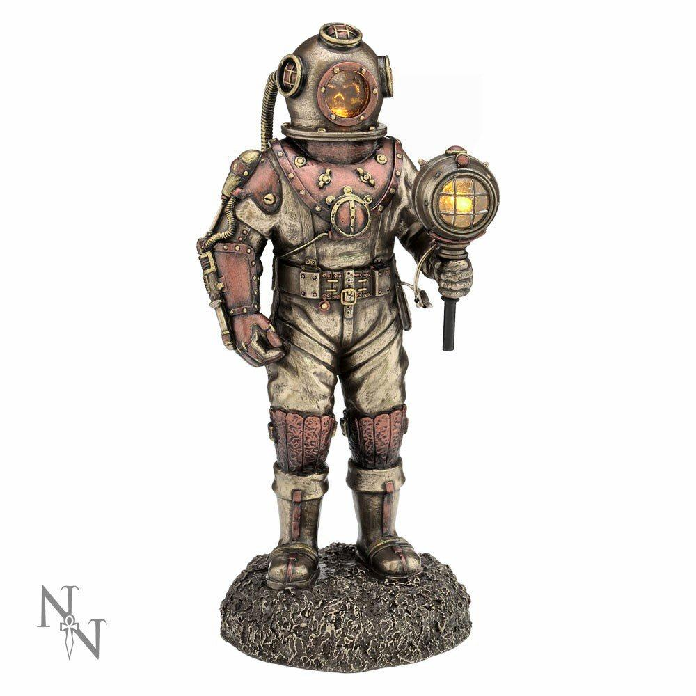 Mariners Descent (c2424g6) - steampunk sculpture