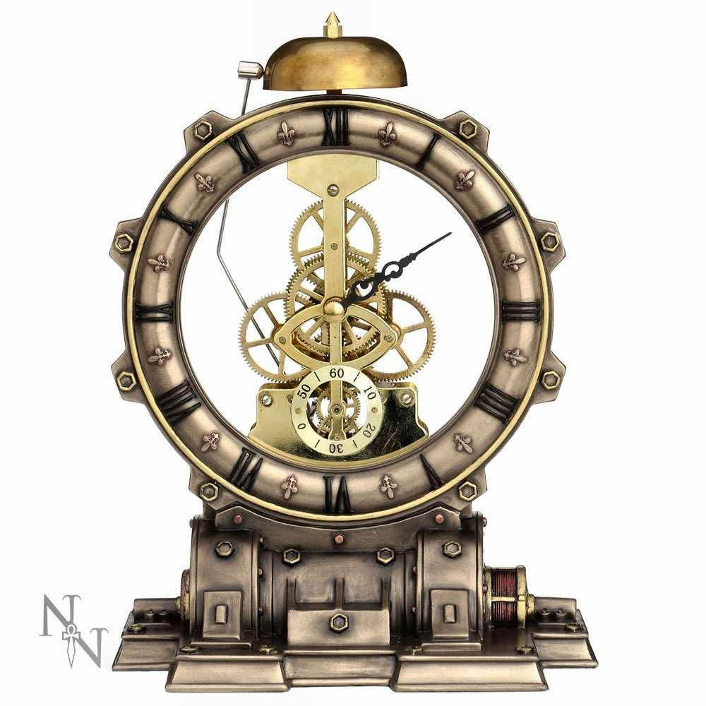 Time Machine (d2953h7) - steampunk clock