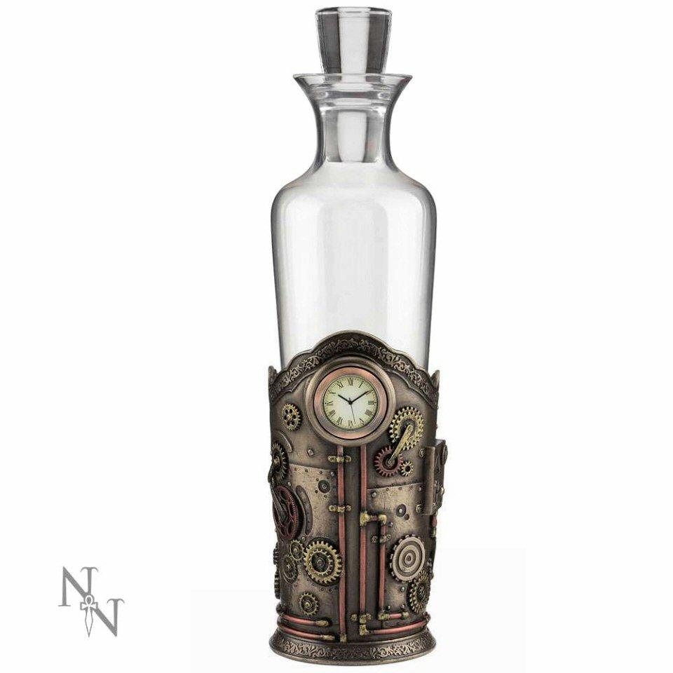 Chronological Libations - Steampunk Spirit Bottle - 1D3145H7