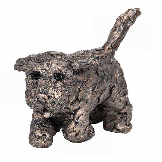 Winnie the Cockapoo - Bronze Dog Sculpture - Adrian Tinsley AT040