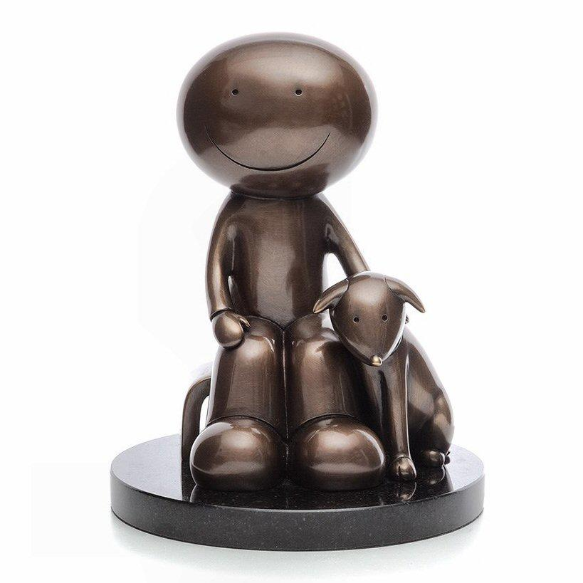 The Great Outdoors - Bronze Sculpture by Doug Hyde - DeMontfort