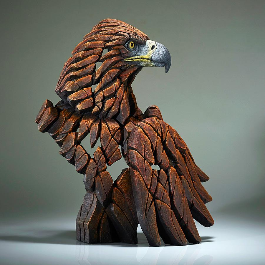 Eagle Bust - Golden - EDGE Sculpture EDB23G
